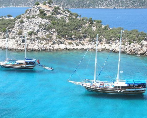 fethiye to olympos cruise 4 days 3 nights cabin charter gulet 2f4d4
