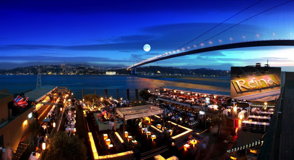 Reina club New years eve party istanbul